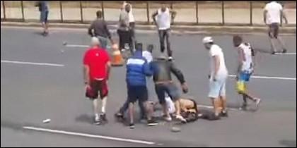 La agresión en Brasil