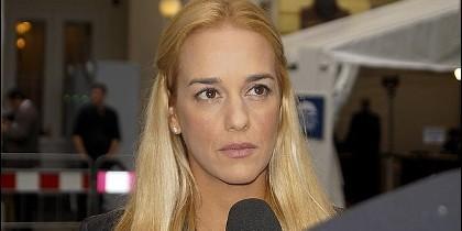 Lilian Tintori, esposa del opositor venezolano Leopoldo López.
