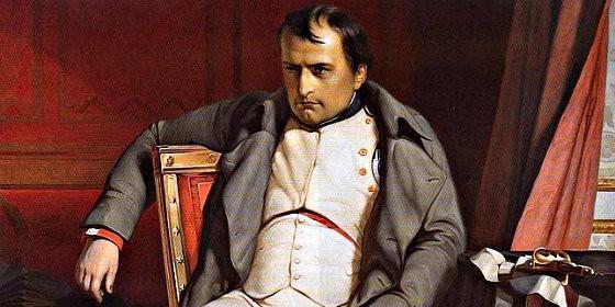 El emperador francés, Napoleón Bonaparte.