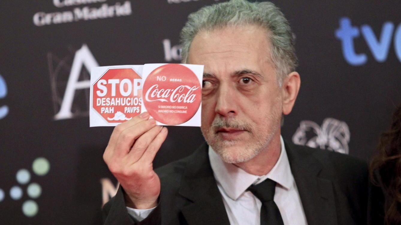 Fernando Trueba en campaña.