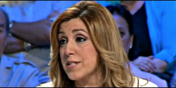 Susana Díaz, presidenta socialista de Andalucía.