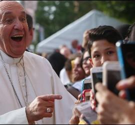 El Papa en USA con jóvenes