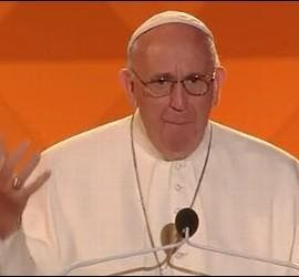 El Papa, esta noche con los jóvenes