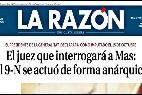 El logo de 'La Razón'.