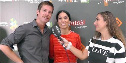 Manu Baqueiro e Itziar Miranda