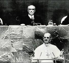 Pablo VI, en la ONU