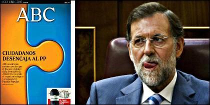 La portada sobre Ciudadanos destinada a cabrear a Rajoy.