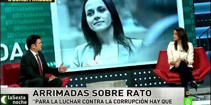 Inés Arrimadas en LaSextaNoche.