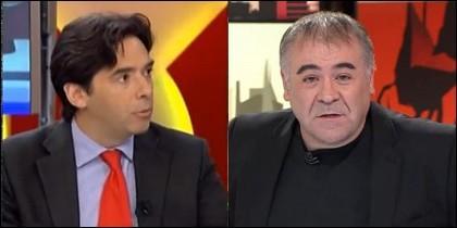 Percival Manglano y Antonio García Ferreras.
