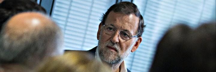 Mariano Rajoy se ha puesto personalmente al frente de la campaña electoral del PP.