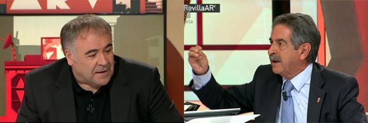 Antonio García Ferreras y Miguel Ángel Revilla.