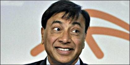 El presidente ejecutivo del grupo siderúrgico Arcelor Mittal, Lakshmi Mittal.