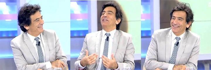 Arcadi Espada en Telecinco.