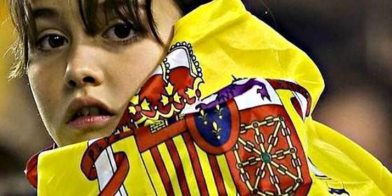 España, la bandera y lo español.