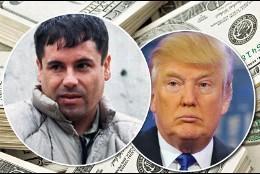 'El Chapo' y Donald Trump