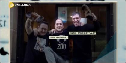 David Fernández y Marc, pura dinamita.