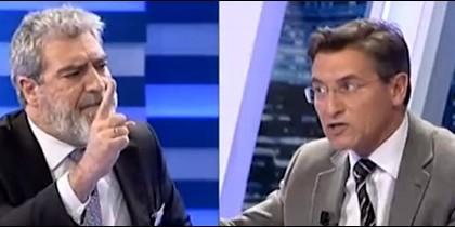 Miguel Ángel Rodríguez y Luis Salvador.