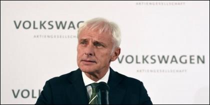 Matthias Mueller, consejero delegado de Volkswagen