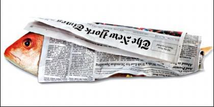 La 'ley de hierro' de la Prensa: el mejor reportaje de hoy solo sirve para envolver el pescado de mañana.