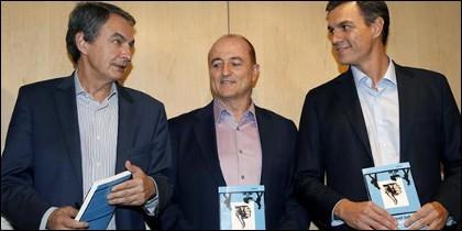 Zapatero, Sebastián y Sánchez.