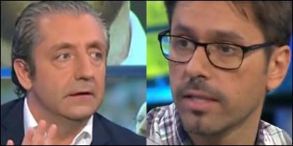 Josep Pedrerol y Roberto Morales.