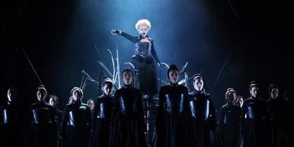 La ópera Roberto Devereux en el Teatro Real de Madrid.