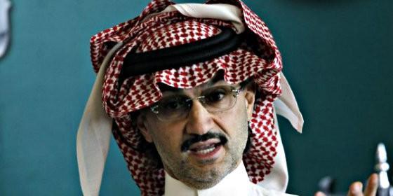 El príncipe saudí Alwaleed Bin Talal.