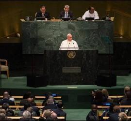 El papa en la cumbre
