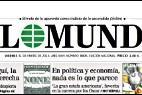 Cabecera y logo de 'El Mundo'.