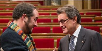 Fernández, el sandalio batasuno de las CUP y Artur Mas