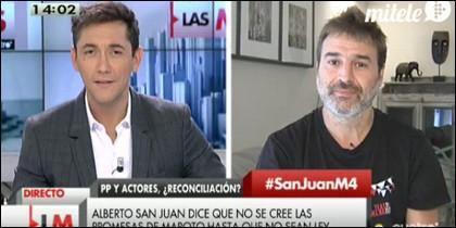 Javier Ruiz y Alberto San Juan.