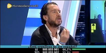 Federico Quevedo en 'El Cascabel'.