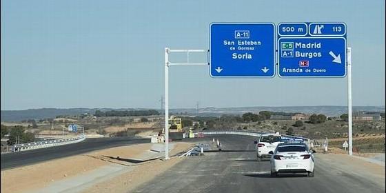 Soria ya denuncia que se han paralizado las obras en la - Autovia segovia valladolid ...