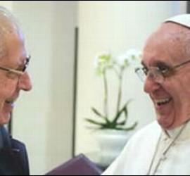 Adolfo Nicolás, sj., con el Papa