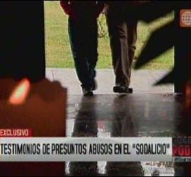 Presuntos abusos del ex líder del Sodalicio