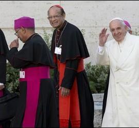 Adiós del Papa tras el Sínodo