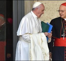 Papa y Baldisseri en el Sínodo