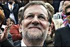 Mariano Rajoy en campaña electoral.
