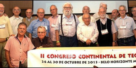 Teólogos participantes en el congreso de Amerindia