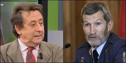 Alfonso Ussía y José Julio Rodríguez.