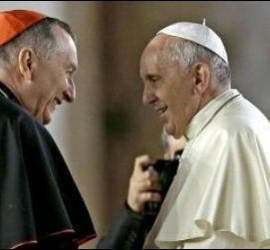 Pietro Parolin, con el Papa Francisco