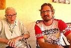 Pedro Casaldáliga y Luis Miguel Modino