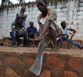 Comité de autodefensa del distrito de Benz-vi en Bangui (RCA)