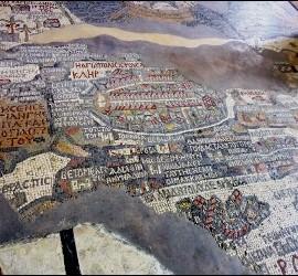 Madaba, en Petra
