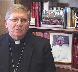 Monseñor Menéndez, nuevo obispo de Astorga