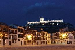 Museo del Vino de Peñafiel desde la Plaza del Coso
