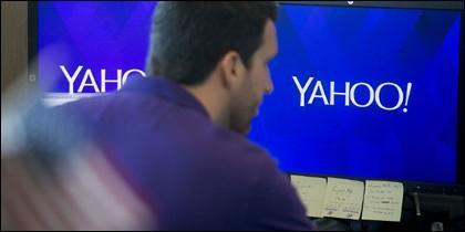 Un usuario de Yahoo.