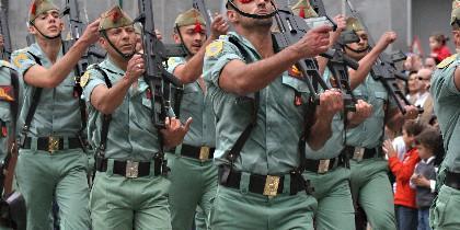 La Legión del Ejército español.