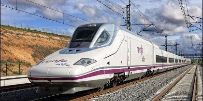 Renfe y el tren AVE.