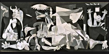 El 'Guernica' de Pablo Picasso.